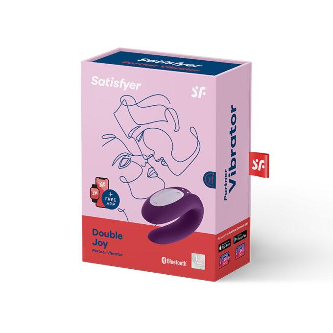 Satisfyer Double Joy Violet Distribution Sex Toys Latino