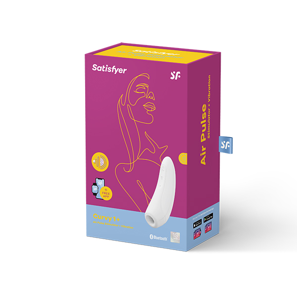 Distribution Sex Toys Satisfyer Curvy 1